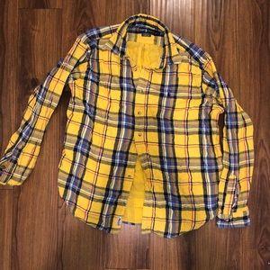 VINTAGE Ralph Lauren Oversived Flannel